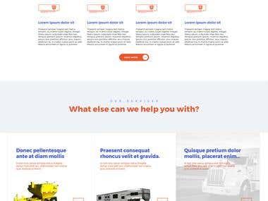 trailer dealer template design