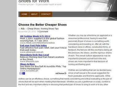 Choose the Better Cheaper Shoes