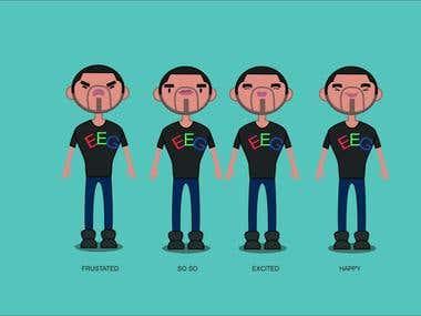 Creative cartoon