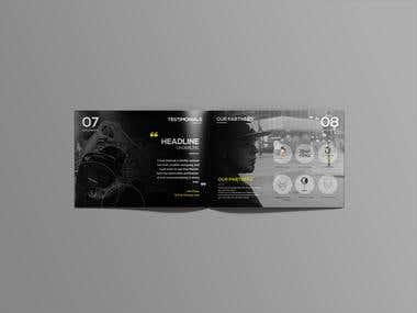 Create a press kit / Brochure