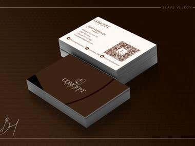 """Concept Cafe"" - B.Card"