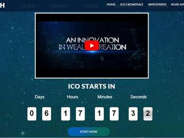 Cryptocurrency ICO Project