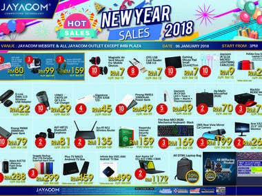 New Year Sale Flyers