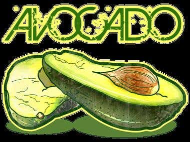 Avocado (Logo On Shirt)