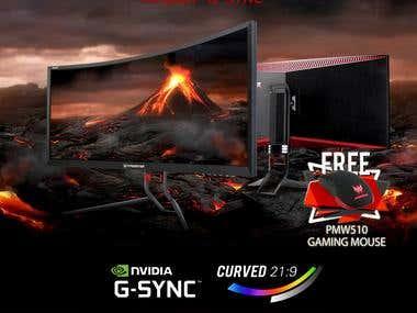 Acer Predator Promotion Poster