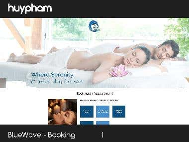 BlueWave - Booking an Appointment