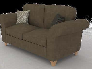 Sofa Angelic 3d