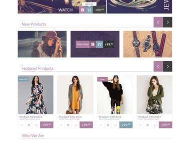 Ecommerce shopify site Name is Balleza Fashion store