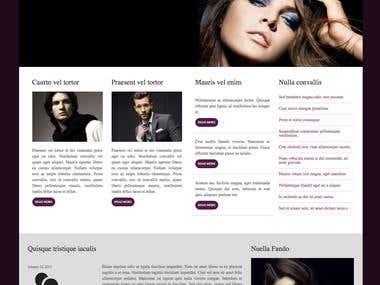 Style magazine (page)