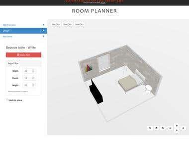 Magento 2 3D Room Planner