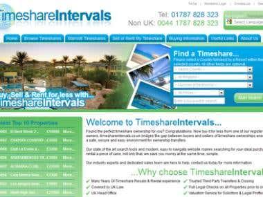 Timeshare Intervals Website