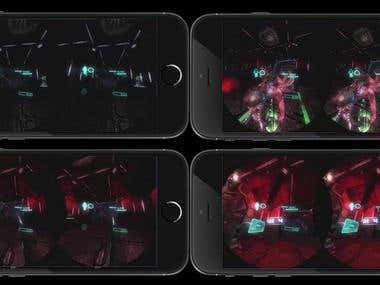 VR FPS game