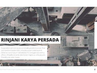 Rinjani Karya Persada Website