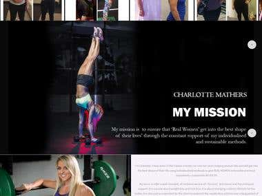 CHARLOTTE MATHERS PERSONAL TRAINER