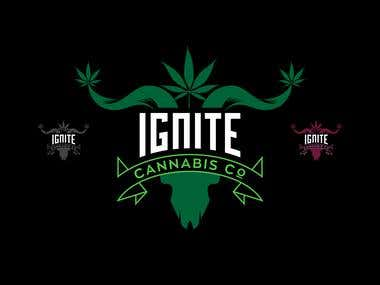IGNITE CANNABIS CO. Logo