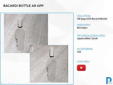Bacardi App - ARkit