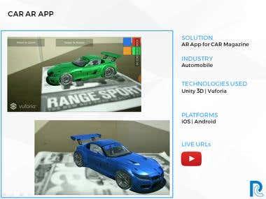 CAR AR App