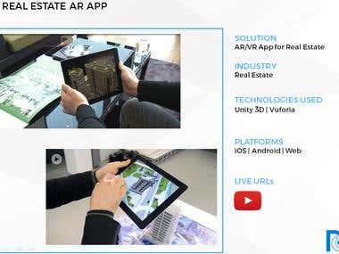 Real Estate AR App