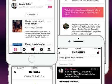 App design for iOS