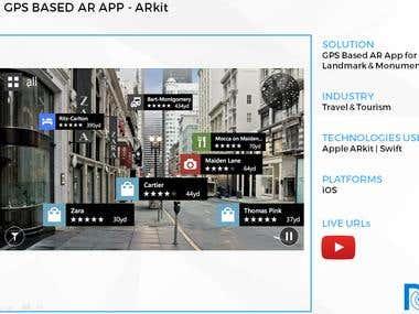 GPS Based AR App - ARkit