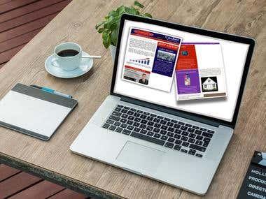 Newsletter Layout Design