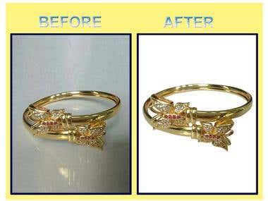 Background Remove from Jewelry