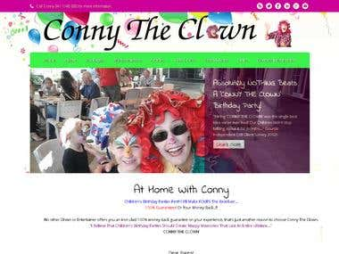 Conny The Clown Website - Copy Joomla site over from html