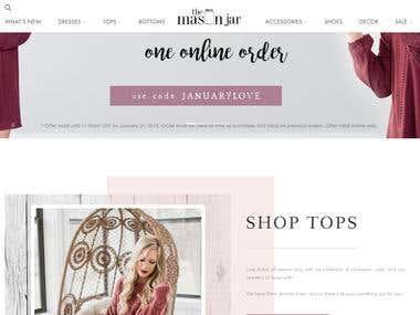 Beauty Product Shop