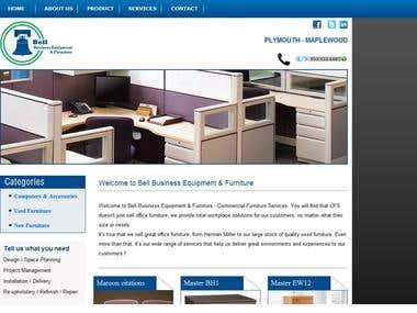 Bell Furniture Website