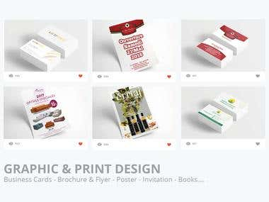 I Will do Any kind of Print Designs