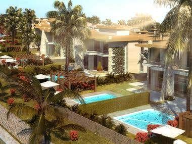 North coast villa Egypt