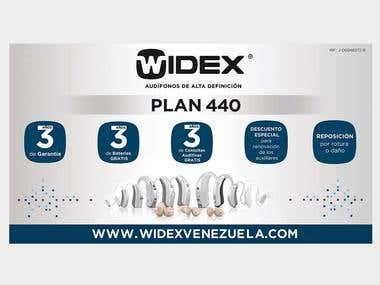 "Stand Araña ""Widex"""