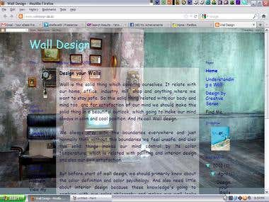 My blog about Interior Wall Design