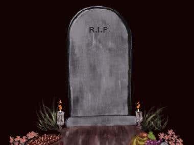 Gif animado Dia de Muertos