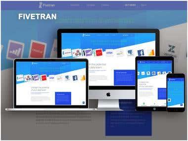 Fivetran - PHP web project
