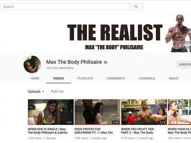 Max The Body Philisaire - Youtube Marketing