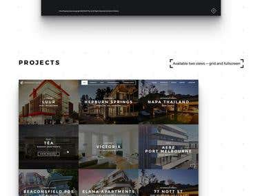 Website redesign - Property developer