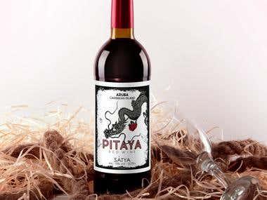 Pitaya wine