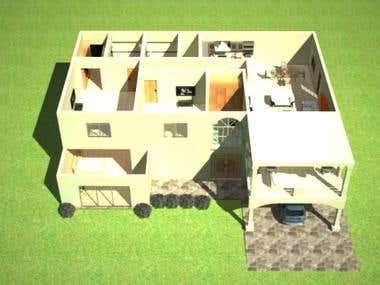 Architect design floor plan