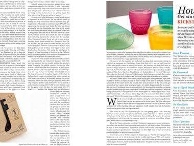 Recreation: Magazine Project