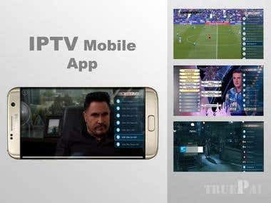 IPTV mobile application