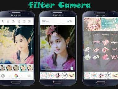 Photo filtering app.