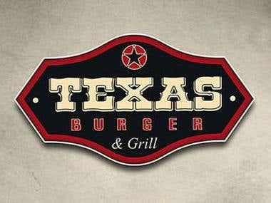 """Diseño Publicitario """"Texas Burger"""""""