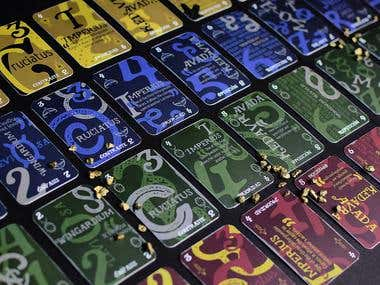 Harry Potter Typographic Playing Cards