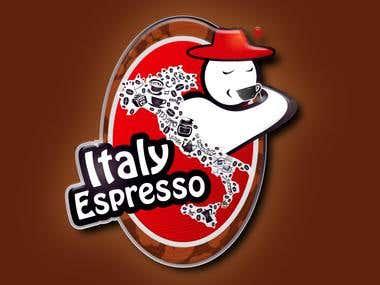 Italy espresso logo