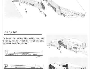 Conceptual Art Museum Design