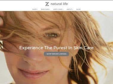 Z Natural Life : Natural Skin Care