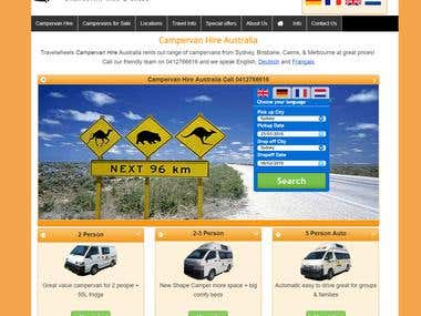 Travelwheels Campervan Hire Australia