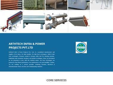 Arth Tech Projects - Website development and design