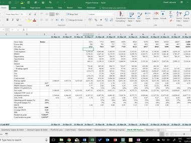 Financial Modeling - Project Finance